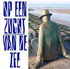 Zeezucht: het beeldenpoëzieparcours van dichteres Maud Vanhauwaert