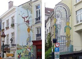 Stripwandeling in Brussel