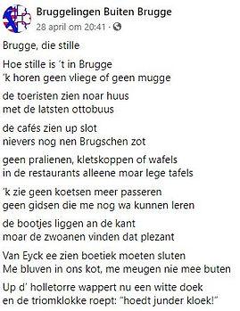 22 mei 2020 - Brugge, die stille