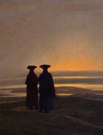 Carl Friedrich Zonsondergang kl.jpg