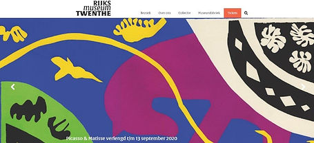 13 juni 2020 - Picasso & Matisse. Beauty is a Line