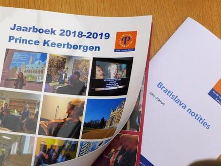 Bestel nu het Prince Keerbergen jaarboek 2018-2019 en de Bratislava notities