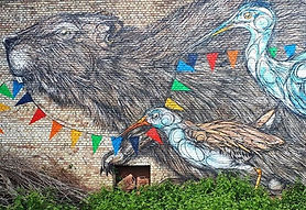 Yellow Brick Road, street art