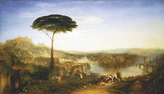 Turner Childe Harold's pilgrimage groot.