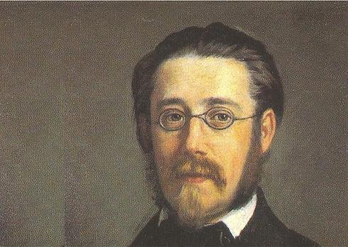 Smetana portret door Södermark 1858 deta