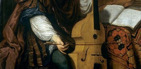 Jan Verkolje Jongeling met een viola da