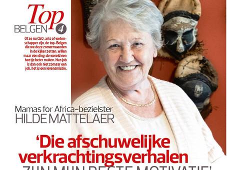 Hilde Mattelaer in de kijker als 'Top Belg'
