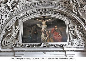 Dom Salzburg Kruisweg Kruisiging foto Ma