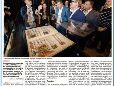 Vers van de pers. Vandaag in het Nieuwsblad