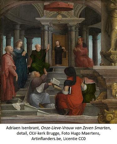 Adriaen Isenbrant, OLV van 7 Smarten, OLV-kerk Brugge, CC0, ArtinFlanders detail2 txt.jpg