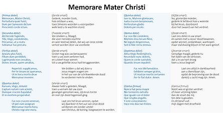 Memorare Mater Christi (Matthaeus Pipela