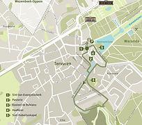 'School van Tervuren'-pad met onderweg sculpturen van Tom Frantzen