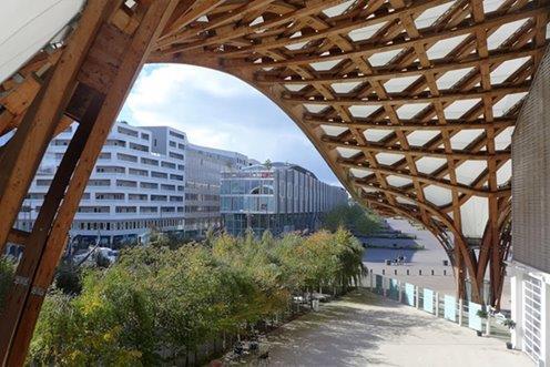 Cntre Pompidou Metz, Shiguru Ban
