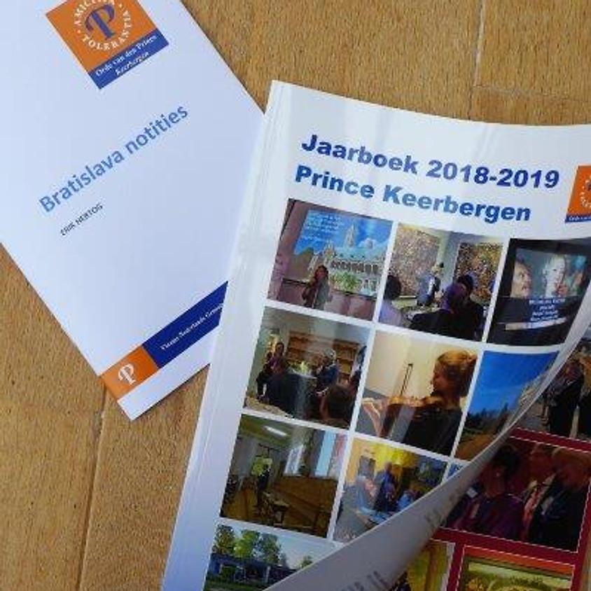 """Bestel nu het """"Prince Keerbergen jaarboek 2018-2019"""" samen met de Bratislava notities"""