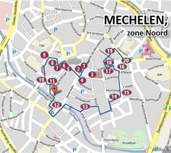 Mechelen 'vlietenwandeling'