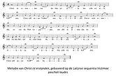Melodie Christ ist erstanden op seq Victimae.jpg