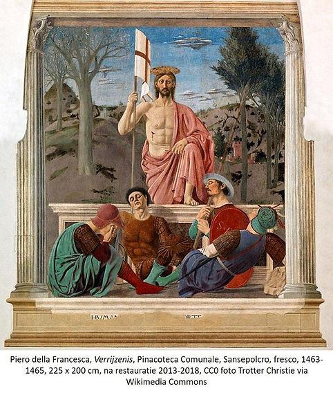 Piero della Francesca Verrijzenis Sansep