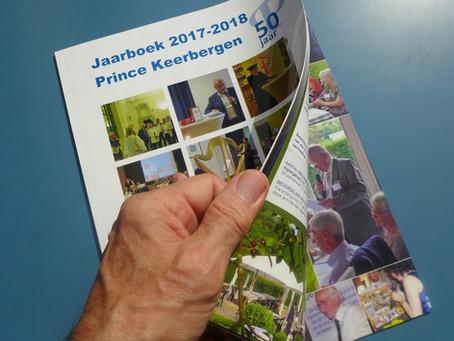 """Bestel nu het """"Prince Keerbergen jaarboek 2017-2018"""""""