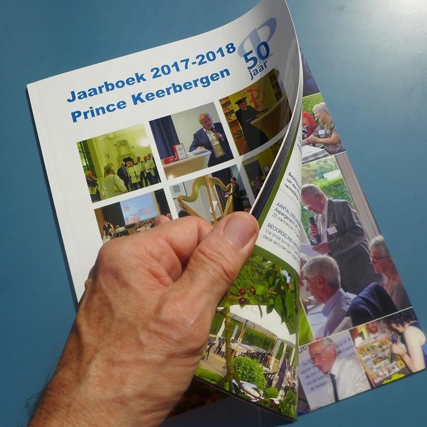 "Bestel het ""Prince Keerbergen jaarboek 2017-2018"""