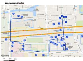 Wandeling Amsterdam Zuid