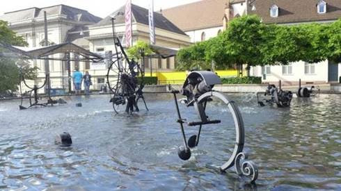 Basel fontein Tinguely