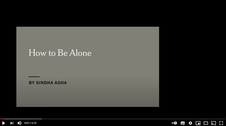 17 juni 2020 - Home alone, voor filmmakers