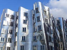 Düsseldorf, Neuer Zollhof - Frank Gehry