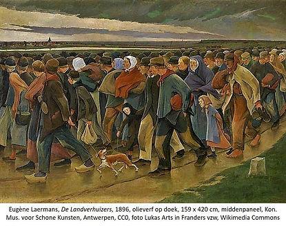 Eugene Laermans  Landverhuizers middenpa