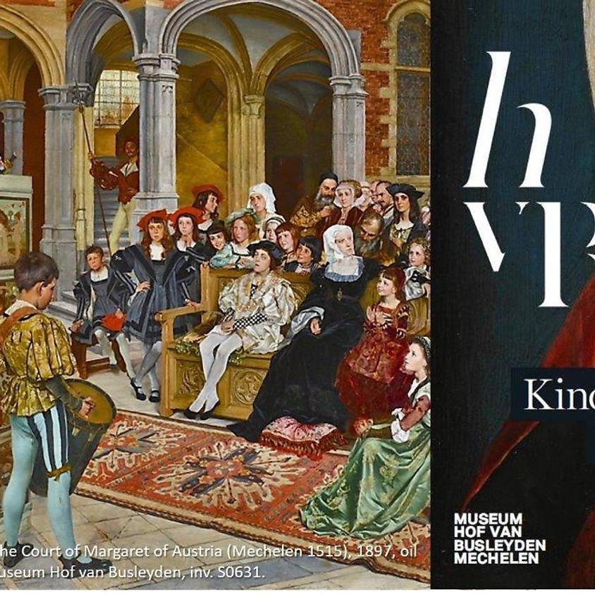 vrij 9 april 2021, ZOOM-vergadering, lezing van curator Dr. Samuel Mareel over 'De Kinderen van de Renaissance'