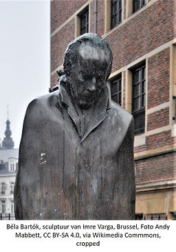 Imre Varga, bela Bartok, Brussel, foto A