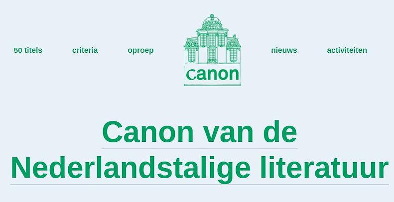 26 juni 2020 - Literaire canon