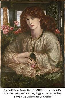 Rossetti La donna della Finestra Wikimed