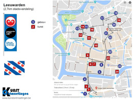 Wandeling Leeuwarden