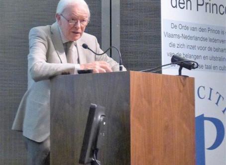 Fotoverslag van onze septembervergadering in Kazerne Dossin met Jan Geens als spreker