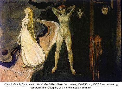 Edvard Munch  De Vrouw in 3 stadia.jpg