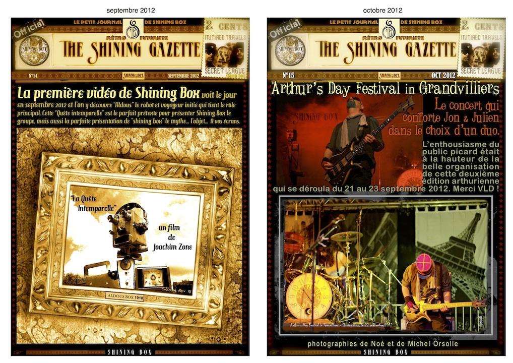 The Shining Gazette N°14 & N°15