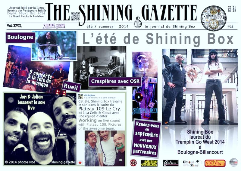 The Shining Gazette N°23 été 2014