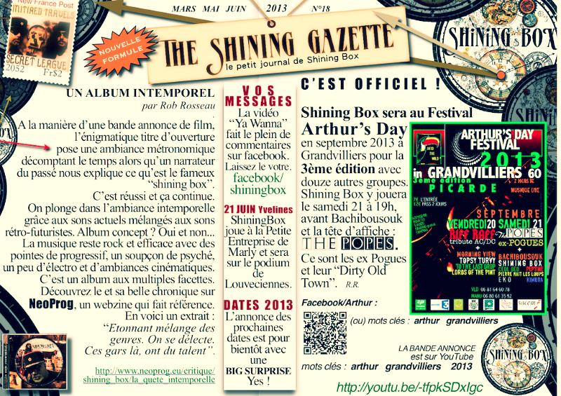 The Shining Gazette N°18