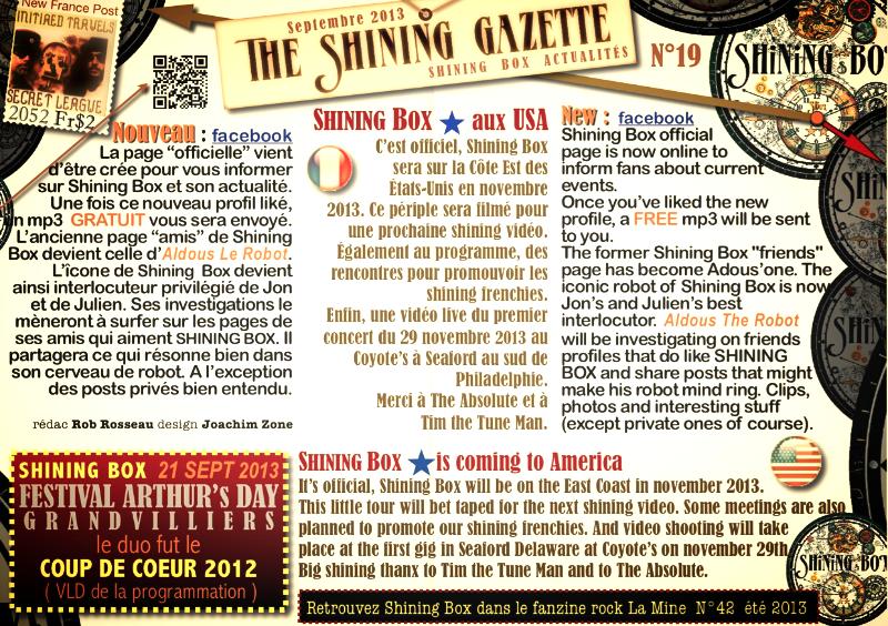 The Shining Gazette N°19