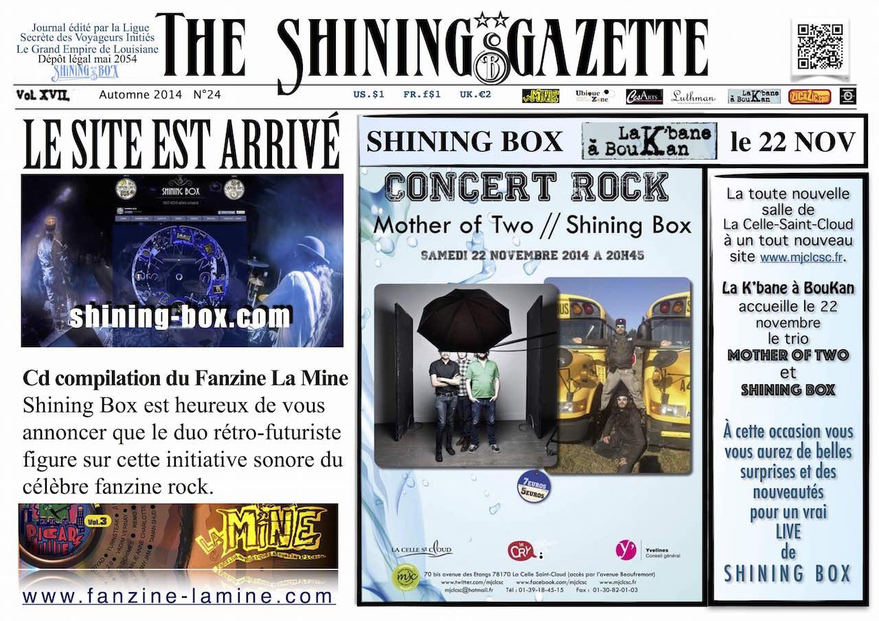 Shining Gazette 24 Shining Box