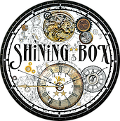 shining, clock, retro, shining box, ubique zone, shinning box