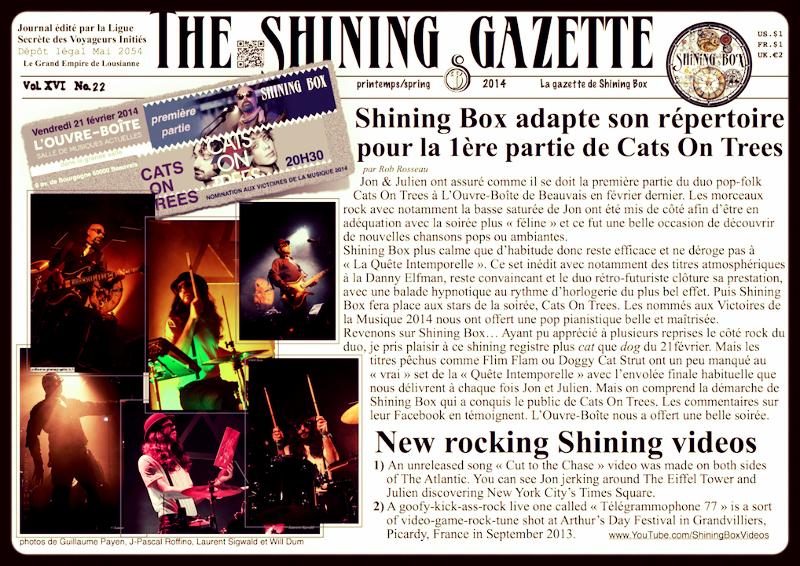 The Shining Gazette N°22