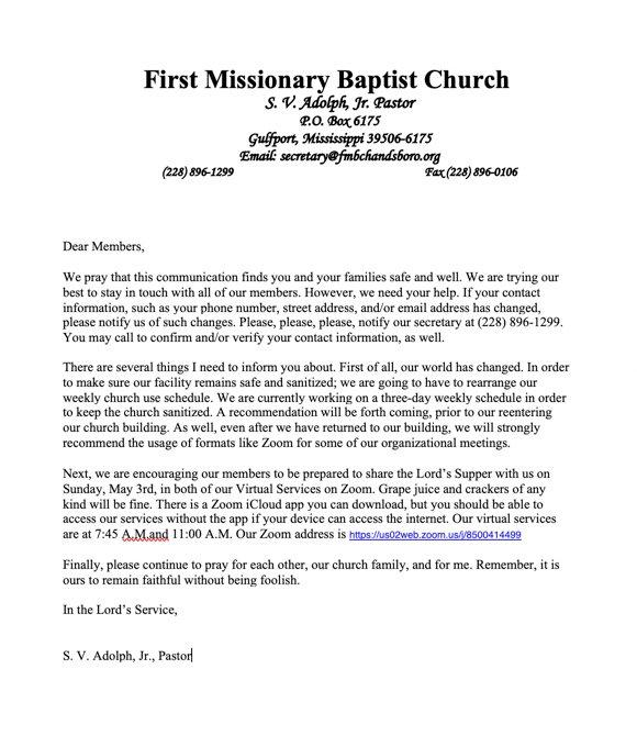 From the Pastor.jpg