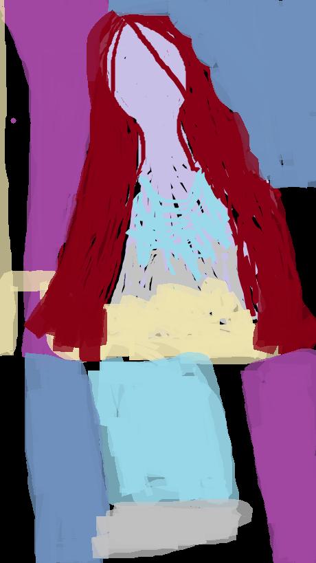 Femme aux cheveux longs  Amina Naili -30.11.2013  22.36