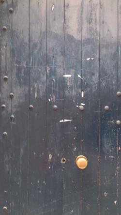 Green Wood Door  AN2015