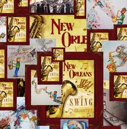New Orleans Jazz Swing    M. Flisiuk   AN2015