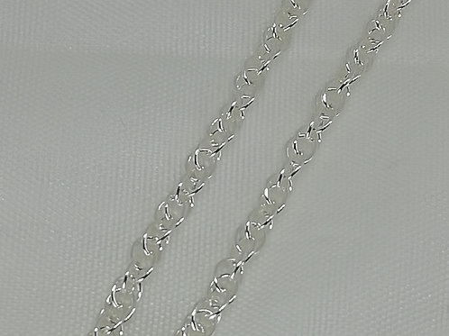 Handmade a selection of sterling silver chains, all with silver necklace