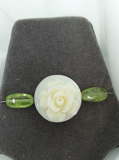 Handmade gemstone pendant