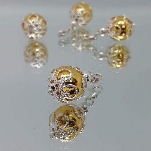 Gemstone Clip Charms