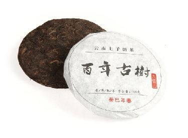 """Шу Пуэр блин """"Бай Ниень Гушу"""" (150г) 2013г"""